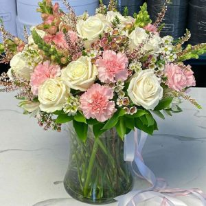 Blooms With Vase